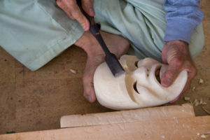 mask-carving